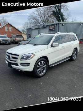 2013 Mercedes-Benz GL-Class for sale at Executive Motors in Hopewell VA