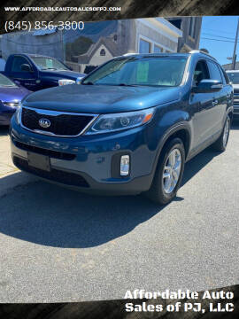 2015 Kia Sorento for sale at Affordable Auto Sales of PJ, LLC in Port Jervis NY