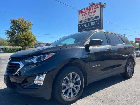 2018 Chevrolet Equinox for sale at Unlimited Auto Group in West Chester OH
