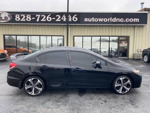 2014 Honda Civic for sale at AutoWorld of Lenoir in Lenoir NC