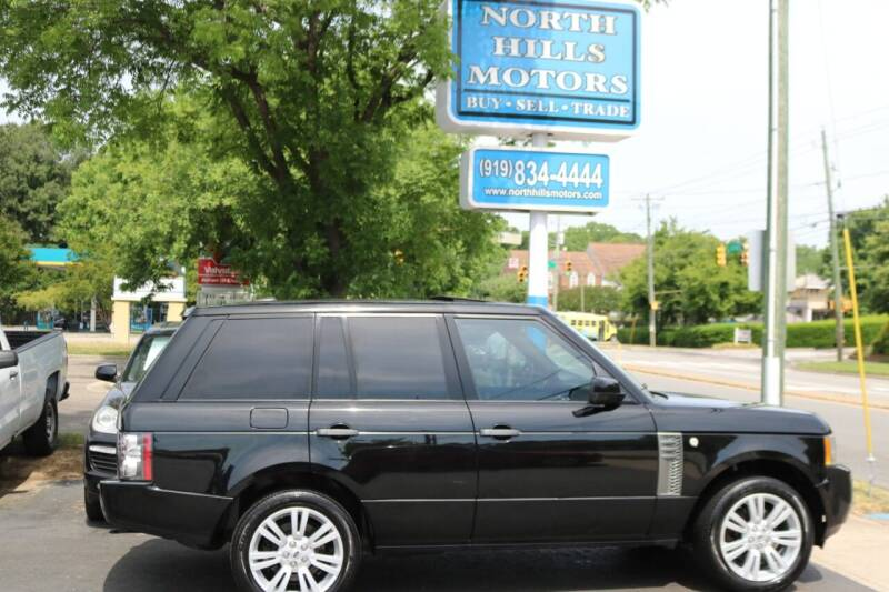 2011 Land Rover Range Rover for sale at North Hills Motors in Raleigh NC