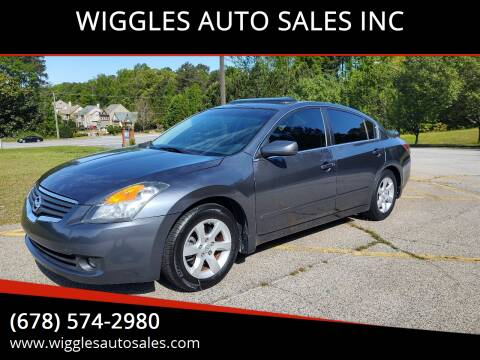 2007 Nissan Altima for sale at WIGGLES AUTO SALES INC in Mableton GA
