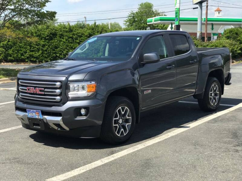 2016 GMC Canyon for sale at RUSH AUTO SALES in Burlington NC