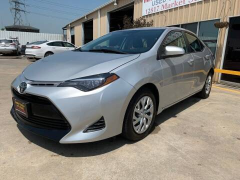 2019 Toyota Corolla for sale at Market Street Auto Sales INC in Houston TX