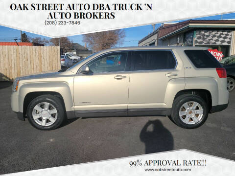 2011 GMC Terrain for sale at Oak Street Auto DBA Truck 'N Auto Brokers in Pocatello ID