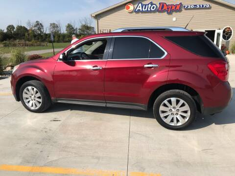 2010 Chevrolet Equinox for sale at The Auto Depot in Mount Morris MI
