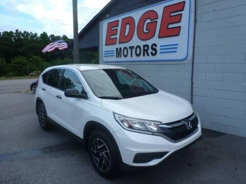 2016 Honda CR-V for sale at Edge Motors in Mooresville NC