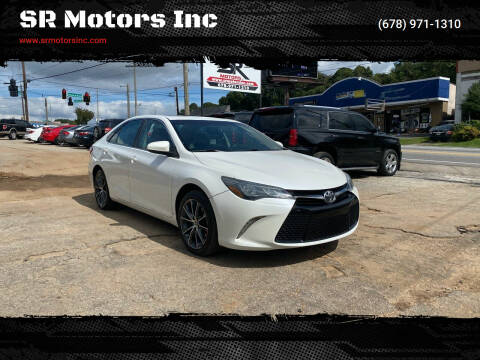 2015 Toyota Camry for sale at SR Motors Inc in Gainesville GA