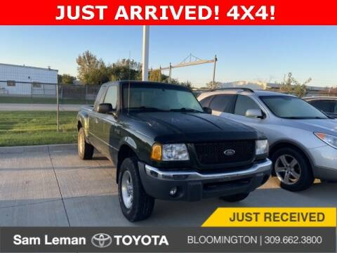 2001 Ford Ranger for sale at Sam Leman Mazda in Bloomington IL