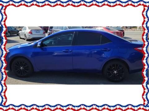 2016 Toyota Corolla for sale at American Auto Depot in Modesto CA