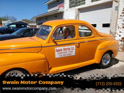 1941 Ford Deluxe for sale at Swain Motor Company in Cherokee IA