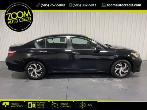 2017 Honda Accord for sale at ZoomAutoCredit.com in Elba NY