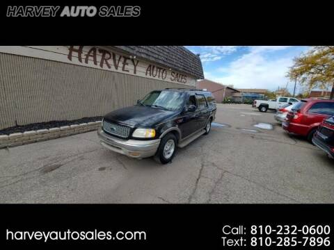 2000 Ford Expedition for sale at Harvey Auto Sales, LLC. in Flint MI