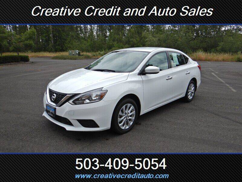 2018 Nissan Sentra for sale at Creative Credit & Auto Sales in Salem OR