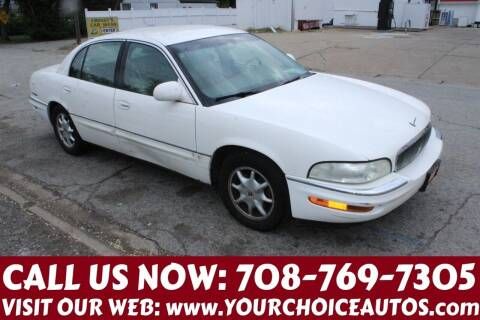 2002 Buick Park Avenue for sale at Your Choice Autos in Posen IL