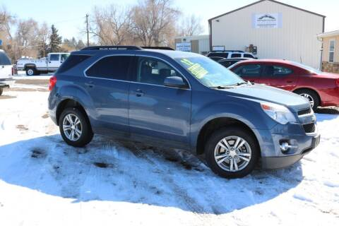 2012 Chevrolet Equinox for sale at Northern Colorado auto sales Inc in Fort Collins CO