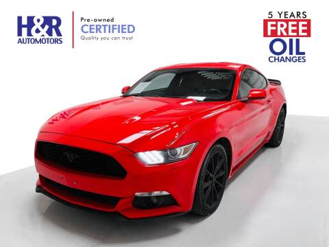 2016 Ford Mustang for sale at H&R Auto Motors in San Antonio TX