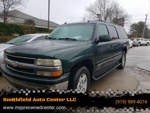 2003 Chevrolet Suburban for sale at Smithfield Auto Center LLC in Smithfield NC