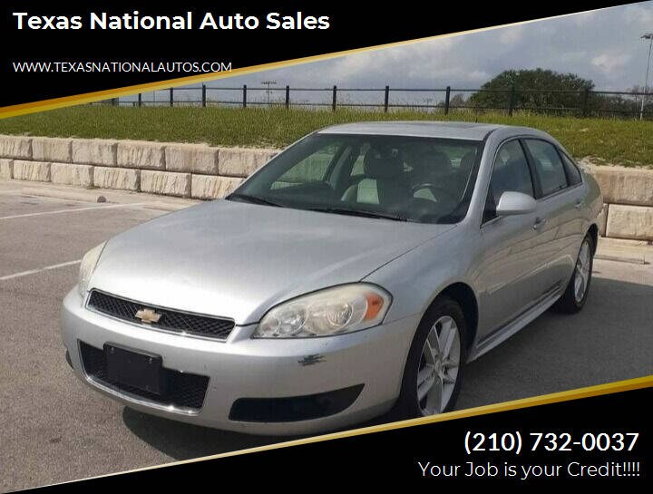 2014 Chevrolet Impala Limited for sale at Texas National Auto Sales in San Antonio TX