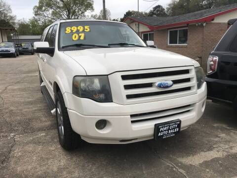 2007 Ford Expedition EL for sale at Port City Auto Sales in Baton Rouge LA