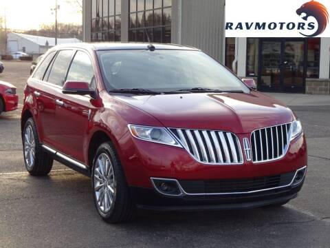 2014 Lincoln MKX for sale at RAVMOTORS 2 in Crystal MN