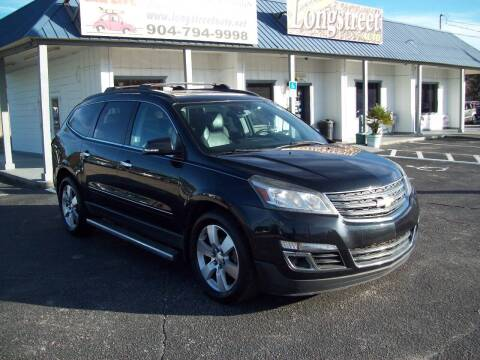 2014 Chevrolet Traverse for sale at LONGSTREET AUTO in St Augustine FL