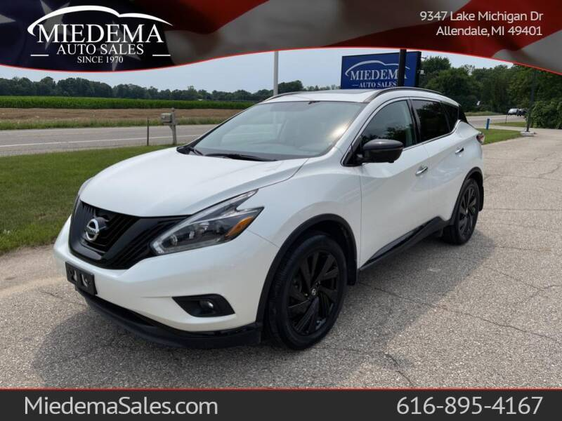 2018 Nissan Murano for sale at Miedema Auto Sales in Allendale MI