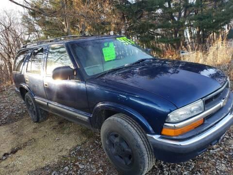 2000 Chevrolet Blazer for sale at Northwoods Auto & Truck Sales in Machesney Park IL