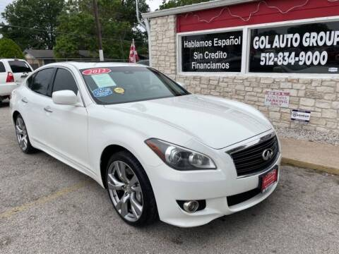 2012 Infiniti M37 for sale at GOL Auto Group in Austin TX