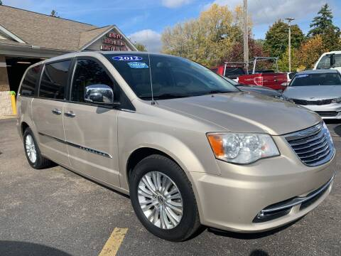 2012 Chrysler Town and Country for sale at A 1 Motors in Monroe MI