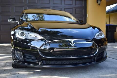 2014 Tesla Model S for sale at Monaco Motor Group in Orlando FL
