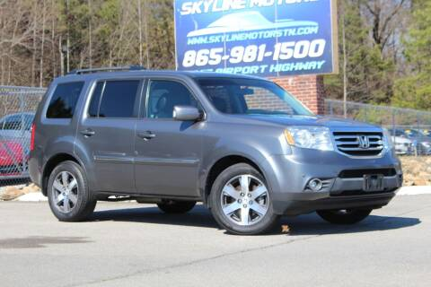 2012 Honda Pilot for sale at Skyline Motors in Louisville TN