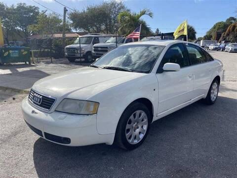 1999 Audi A6 for sale at EZ Own Car Sales of Miami in Miami FL