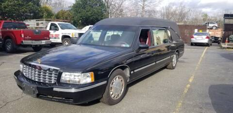 1999 Cadillac Deville Professional for sale at Central Jersey Auto Trading in Jackson NJ
