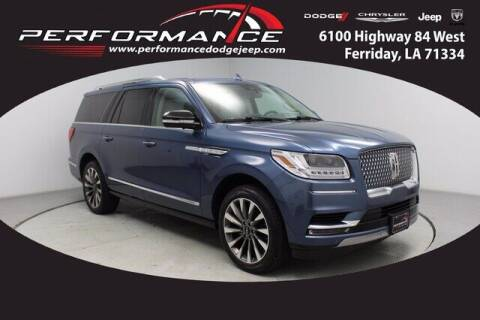 2020 Lincoln Navigator L for sale at Auto Group South - Performance Dodge Chrysler Jeep in Ferriday LA