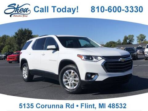 2018 Chevrolet Traverse for sale at Jamie Sells Cars 810 - Linden Location in Flint MI