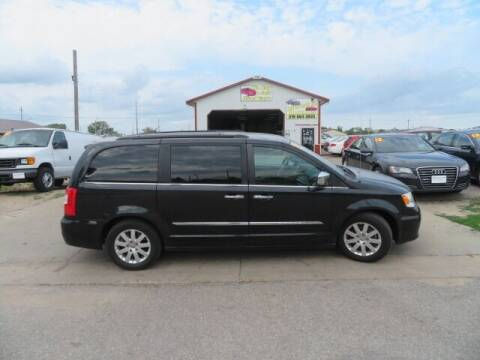 2012 Chrysler Town and Country for sale at Jefferson St Motors in Waterloo IA