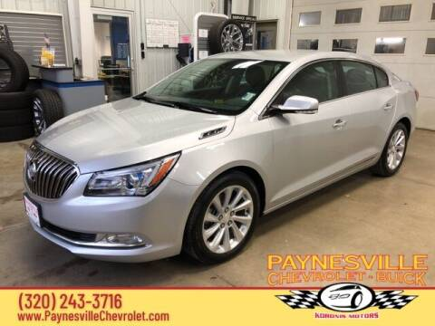 2014 Buick LaCrosse for sale at Paynesville Chevrolet - Buick in Paynesville MN