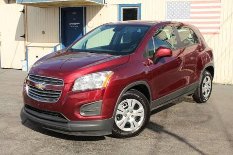 2016 Chevrolet Trax for sale at Dynamics Auto Sale in Highland IN