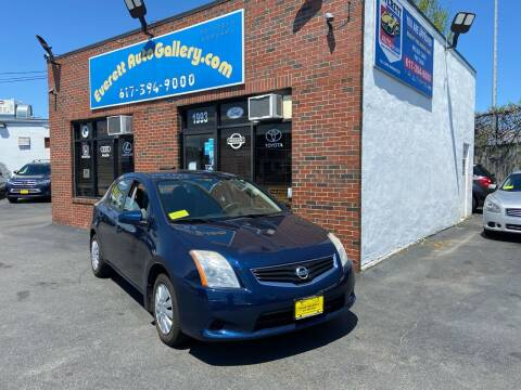 2010 Nissan Sentra for sale at Everett Auto Gallery in Everett MA