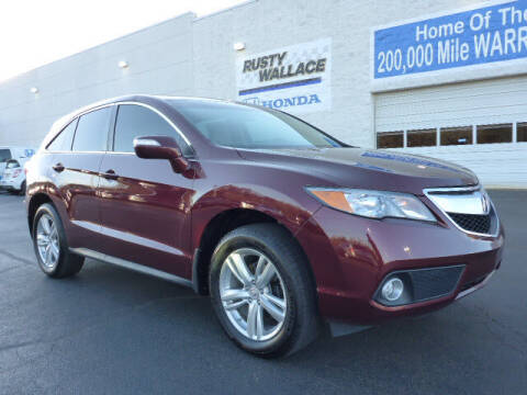 2015 Acura RDX for sale at RUSTY WALLACE HONDA in Knoxville TN