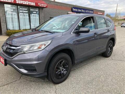2015 Honda CR-V for sale at AutoCredit SuperStore in Lowell MA