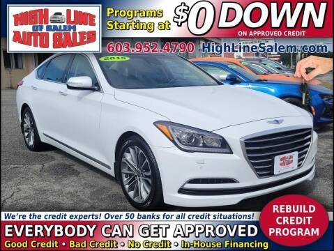 2015 Hyundai Genesis for sale at High Line Auto Sales of Salem in Salem NH