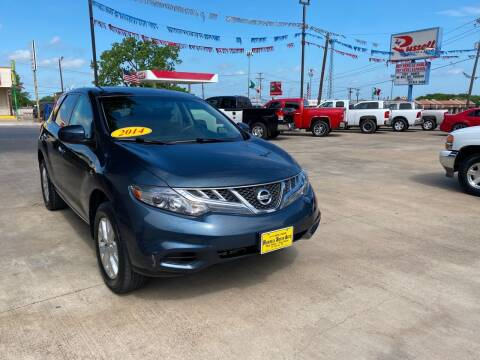 2014 Nissan Murano for sale at Russell Smith Auto in Fort Worth TX