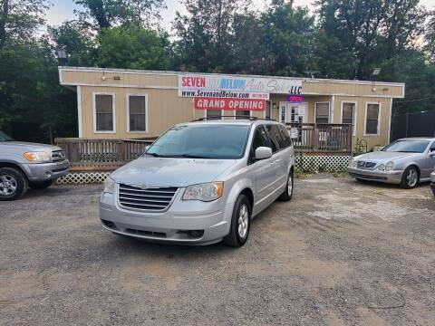 2008 Chrysler Town and Country for sale at Seven and Below Auto Sales, LLC in Rockville MD