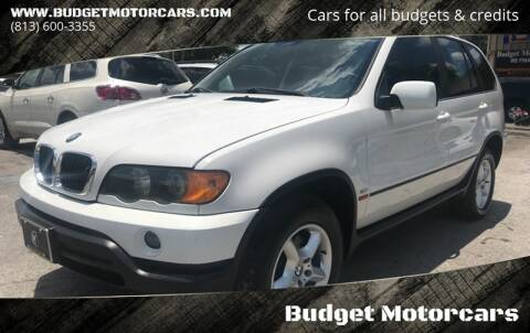 2002 BMW X5 for sale at Budget Motorcars in Tampa FL
