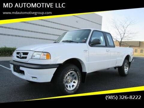 2003 Mazda Truck for sale at MD AUTOMOTIVE LLC in Slidell LA