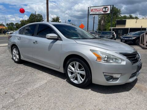 2014 Nissan Altima for sale at Auto A to Z / General McMullen in San Antonio TX