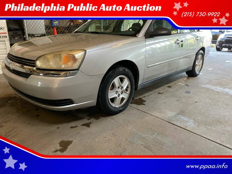 2004 Chevrolet Malibu for sale at Philadelphia Public Auto Auction in Philadelphia PA