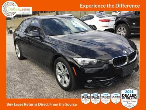 2016 BMW 3 Series for sale at Dallas Auto Finance in Dallas TX